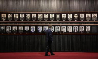 Galeria de presidente do Tribunal Superior Eleitoral (TSE) Foto: André Coelho / Agência O Globo 08/05/2017