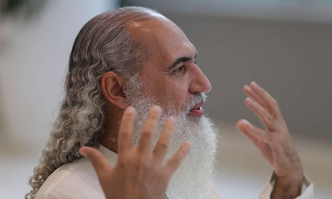O guru das celebridades Sri Prem Baba — ele nega ter abusado sexualmente de duas discípulas Foto: Agência O Globo