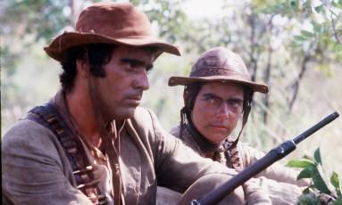 Tony Ramos e Bruna Lombardi, em 1985, em 'Grande sertão veredas' Foto: Jorge Baumann / Divulgação