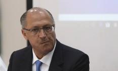 Alckmin foi acusado de receber caixa dois Foto: Ailton Freitas / Agência O Globo