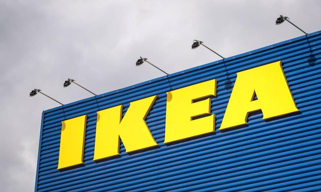 Fachada da loja da Ikea em Estocolmo. Foto: Jonathan Nackstrand/AFP Foto: /