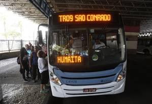 Justiça condenou prefeitura a pagar R$ 180 milhões a empresas de ônibus por reajuste não concedido em 2013 Foto: Fábio Guimarães / Agência O Globo
