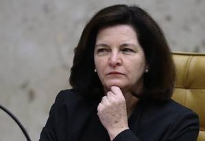 A procuradora-geral da República, Raquel Dodge Foto: Jorge William/Agência O Globo