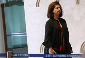A Procuradora geral da República, Raquel Dodge Foto: Ailton de Freitas / Agência O Globo 13/12/2017
