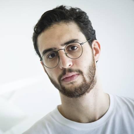 O músico Zeca Veloso, filho de Caetano Foto: Fernando Lemos / Agência O Globo