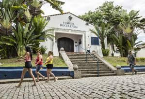 Fachada do Hospital Municipal Rocha Faria, em Campo Grande Foto: Hermes de Paula / Agência O Globo