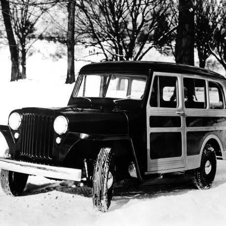 """A Willys Station Wagon 1946, que viria a se transformar na """"nossa"""" Rural Foto: Foto: Divulgação"""