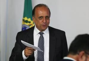 O governador do Rio, Luiz Fernando Pezão Foto: Givaldo Barbosa / Agência O Globo