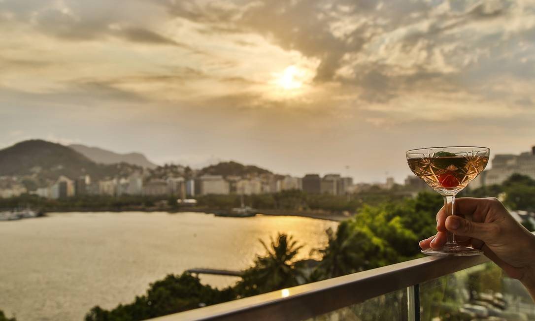 Aberto em setembro, o Xian tem área externa com vistão para a cidade e o espelho d'água, do Corcovado ao Pão de Açúcar. Bossa Nova Mall. Av. Almirante Silvio de Noronha 365, cobertura, Aterro do Flamengo (2303-7080). Foto: Bárbara Lopes / Agência O Globo