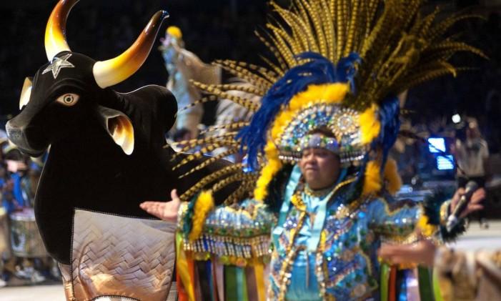 52ª edição do Festival de Parintins no Amazonas. Na foto, apresentação do Boi Caprichoso Foto: Emiliano Capozoli / Divulgação