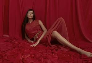 Modelo posou em um ensaio exclusivo para a revista Ela Foto: Mar+vin