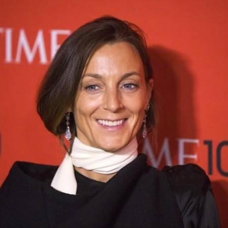 Phoebe Philo comandou a direção criativa da Céline por dez anos Foto: REUTERS/Lucas Jackson