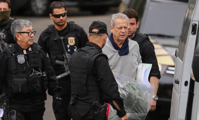 Cassado, Dirceu receberá da Câmara aposentadoria de R$ 9,6 mil