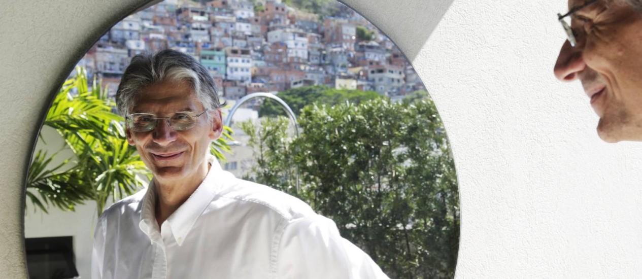 """""""O Brasil precisa manifestar um desejo político para liderar os esforços contra as mudanças climáticas"""", diz o diplomata Marcos Regis da Silva Foto: Gustavo Miranda / Agência O Globo"""