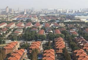 Huaxi, vista do alto Foto: Vivian Oswald