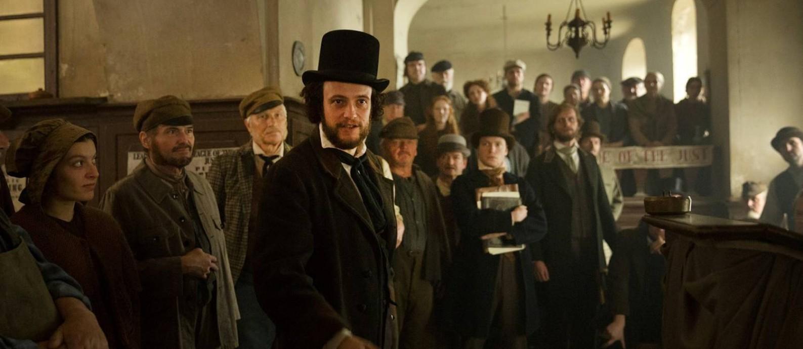 Cena do filme 'O jovem Karl Marx' Foto: Divulgação