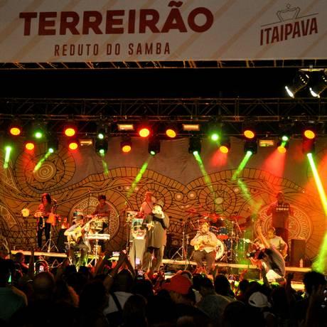 O Terreirão agita o primeiro dia do ano Foto: Divulgação/Eduardo Trinta