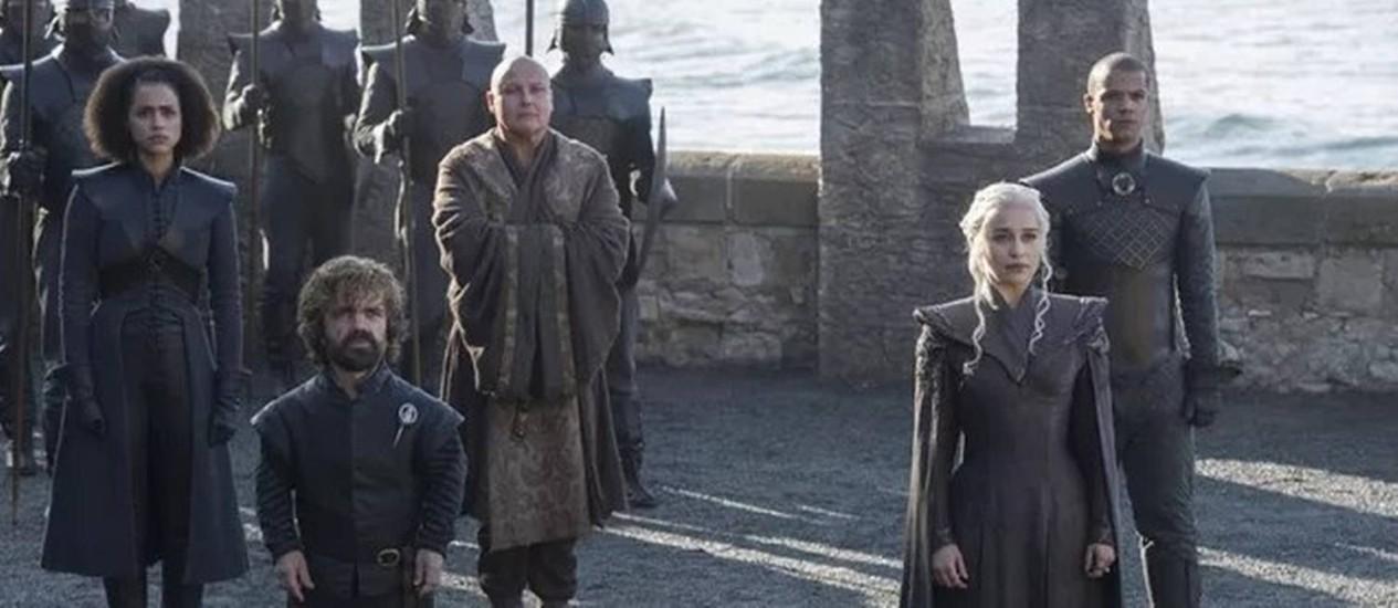 """Cena de """"Game of Thrones"""" Foto: Reprodução"""