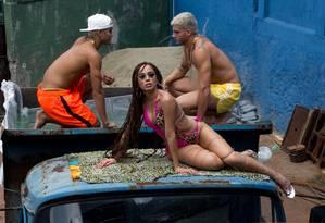 A cantora Anitta no clipe de 'Vai malandra' Foto: André Munhoz / Divulgação