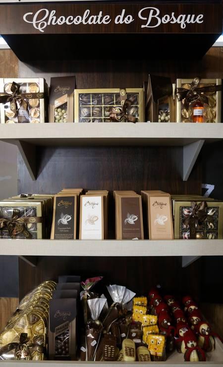 Produtos da região da Serra do Rio do Rastro (SC) vendidos no restaurante 'Mensageiro da Montanha' Foto: Custodio Coimbra / Agência O Globo
