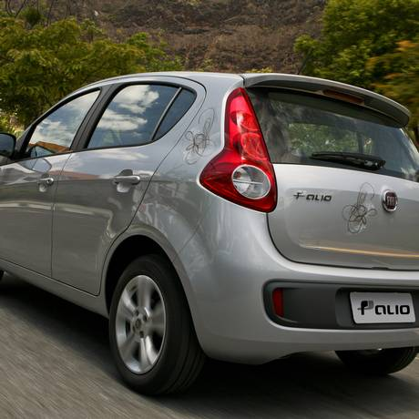 O Palio foi o carro mais vendido do país em 2014 Foto: Foto: Divulgação