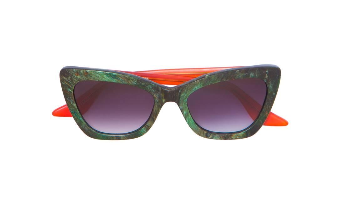 Óculos Brooklyn, por Helena Bordon. R$ 479 (www.byhelenabordon.com) Divulgação