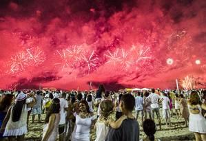Taxa de ocupação na rede hoteleira da cidade do Rio para o réveillon já está em 87% Foto: Bárbara Lopes / Agência O Globo