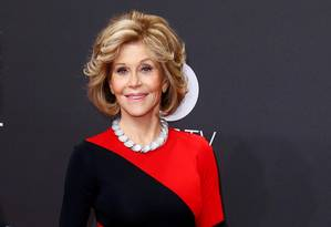 A atriz Jane Fonda Foto: MORRIS MAC MATZEN / REUTERS
