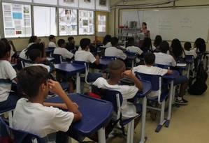 Embora piso seja previsto em lei, diversos estados descumprem valor mínimo Foto: Zeca Gonçalves / Agência O Globo