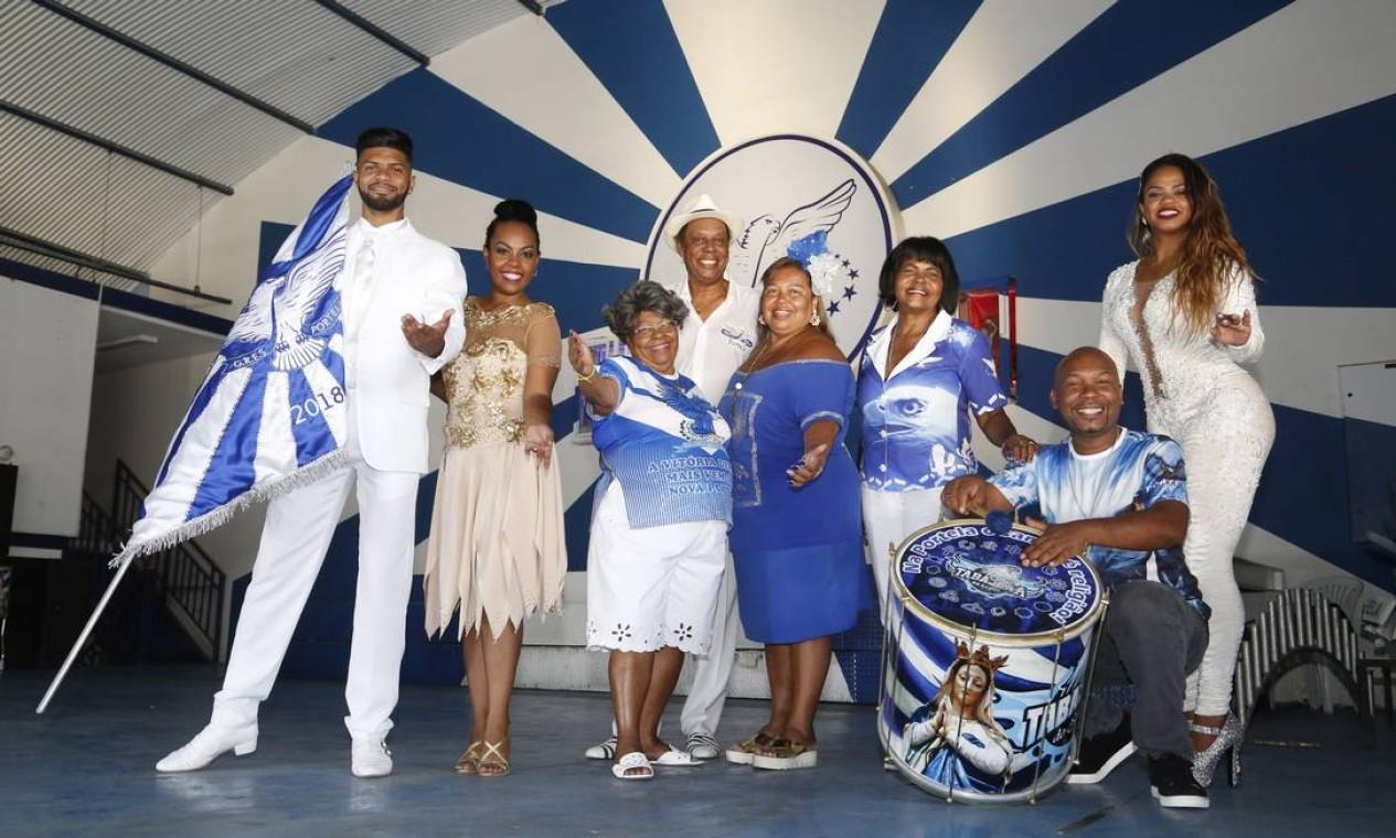 Após o funk, a bateria da Portela, campeã ao carnaval deste ano ao lado da Mocidade, levará ao samba às areias de Copacabana, a partir de 1h30 Foto: Fábio Guimarães / Agência O Globo