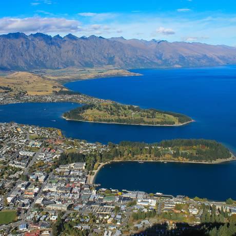 Queenstown, na Nova Zelândia, é uma das recomendações Foto: Vera Araújo / Agência O Globo