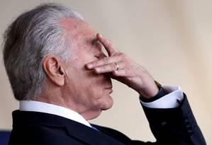 Presidente Michel Temer (PMDB) Foto: ADRIANO MACHADO / REUTERS