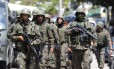 Forças Armadas durante operação na Favela da Rocinha, na Zona Sul do Rio