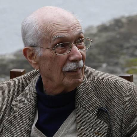 O escritor e crítico literário Antonio Candido, na abertura da Flip 201: morte em maio, aos 98 anos Foto: André Teixeira / Agência O Globo