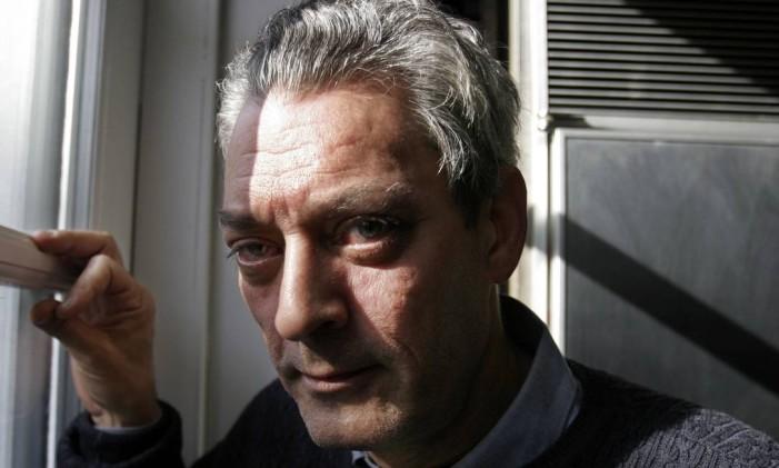 O escritor Paul Auster Foto: Bebeto Matthews/AP