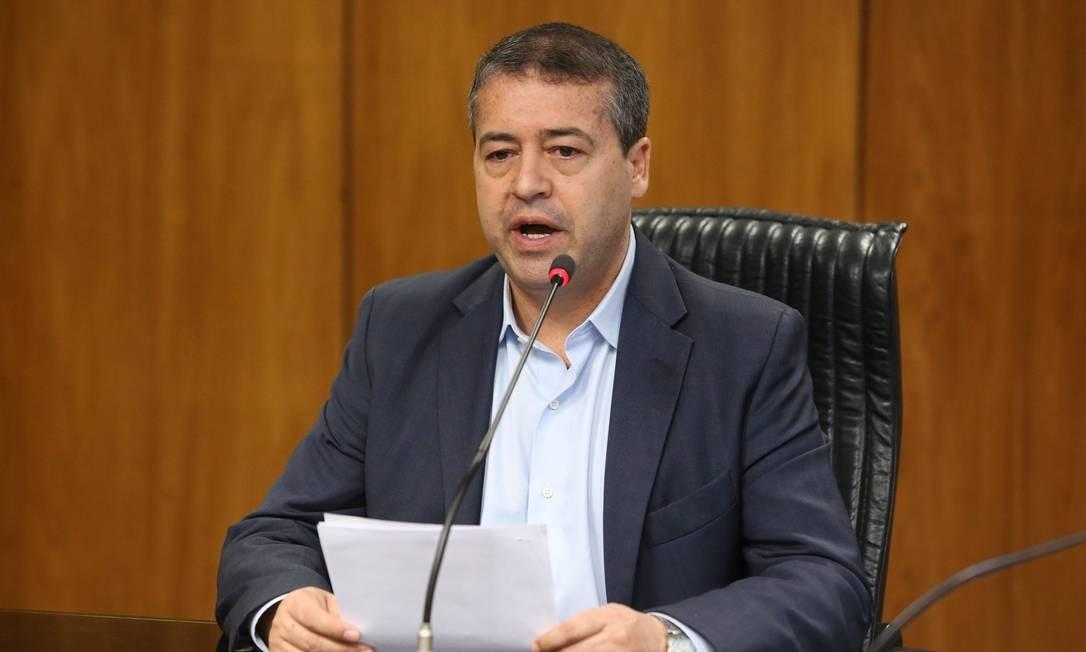 Ronaldo Nogueira, presidente da Funasa e ex-ministro do Trabalho Foto: Ailton de Freitas/Agência O Globo