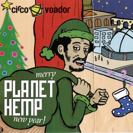 Filipeta de show do Planet Hemp em 2004 Foto: Divulgação