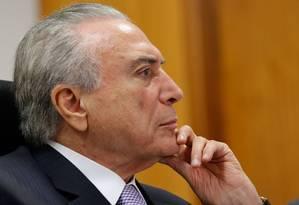 Presidente Michel Temer, durante reunião com Reunião com Ministro-Chefe da Casa Civil, Eliseu Padilha Foto: Marcos Correa/PR