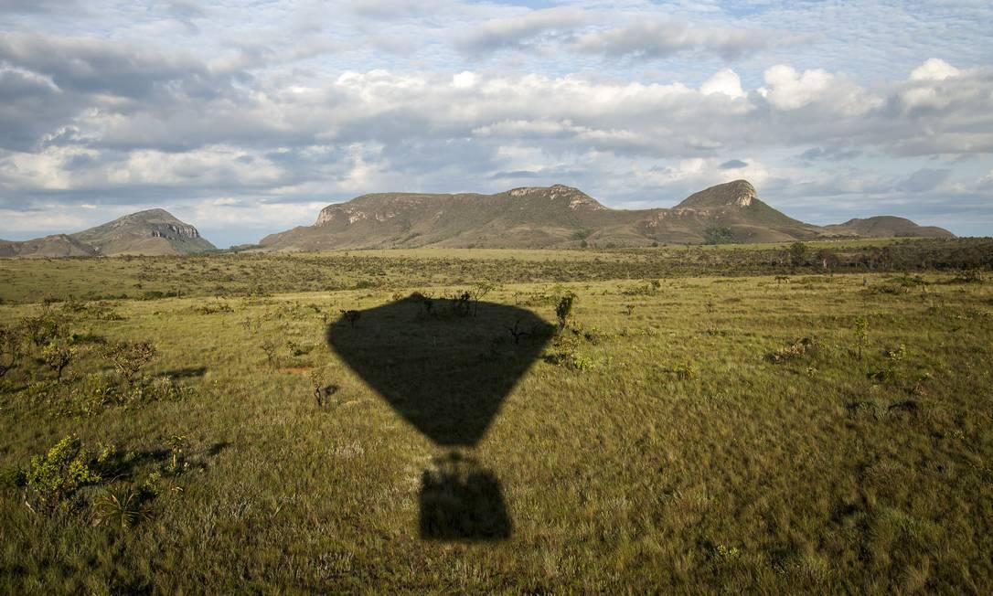 Chapada dos Veadeiros compõe o Cerrado, que concentra 5% da biodiversidade do planeta Foto: / Hermes de Paula/02-12-2016