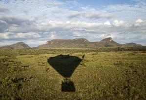 Chapada dos Veadeiros compõe o Cerrado, que concentra 5% da biodiversidade do planeta Foto: Hermes de Paula/02-12-2016