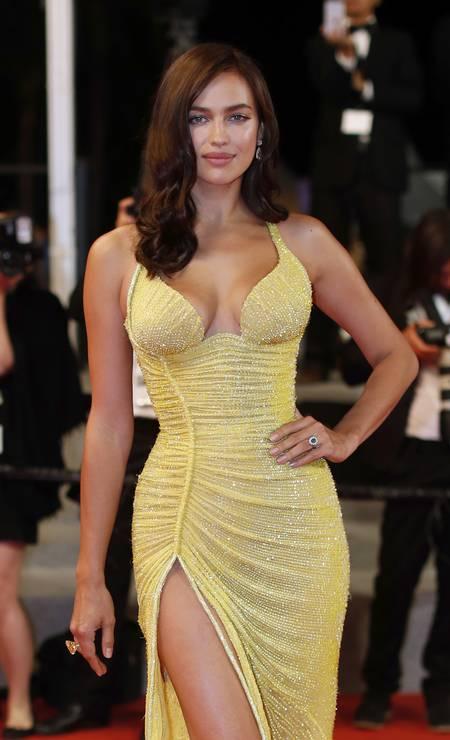 Irina em Cannes Foto: Thibault Camus / AP