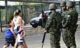 Mudança na Segurança. Homens do Exército fazem patrulhamento nas ruas de Natal para conter onda de violência