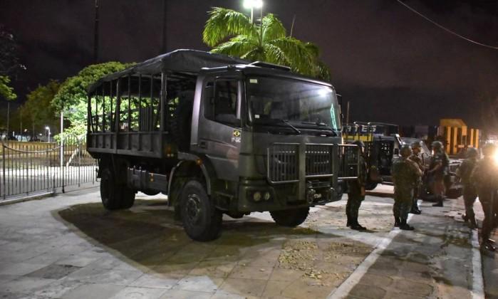 Rio Grande do Norte passa comando da segurança pública ao Exército