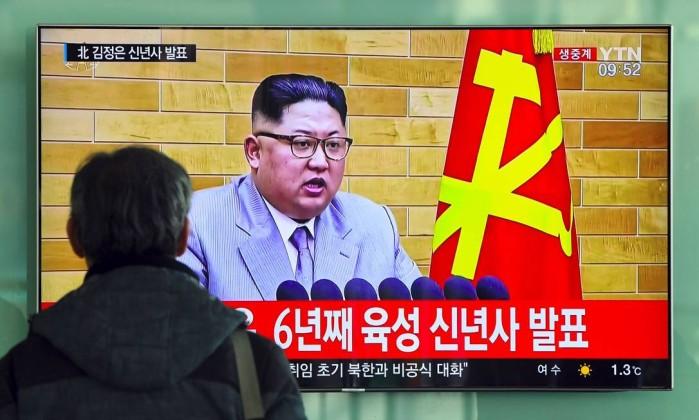 'Botão nuclear está na minha mesa,  alcance dos EUA', diz líder norte-coreano Kim Jong-un em mensagem de ano novo