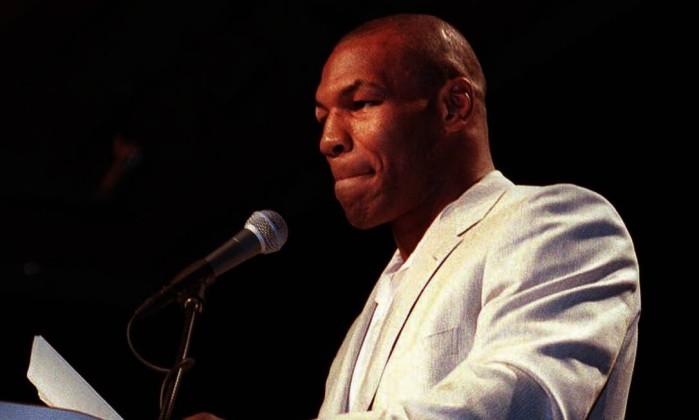 O ex-boxeador Mike Tyson - John Gruzinski / AFP