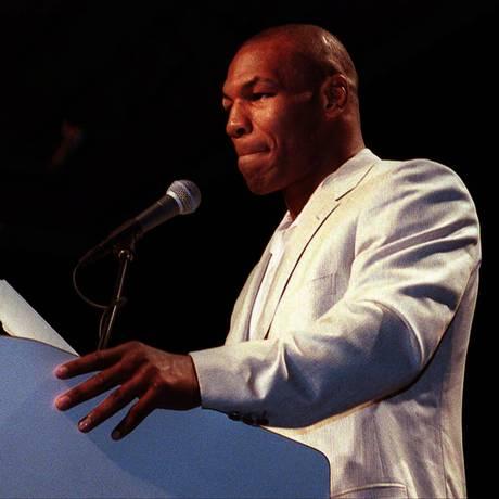 O ex-boxeador Mike Tyson Foto: John Gruzinski / AFP