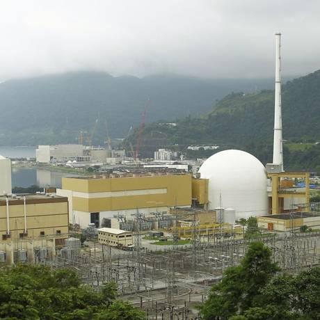 Perigo silencioso. Instalações da Central Nuclear: PM admite que sirenes estão sendo furtadas Foto: Gabriel de Paiva / Agência O Globo