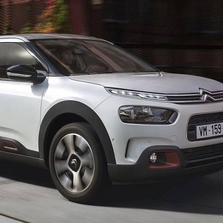 Citroën Cactus. Foto: Divulgação