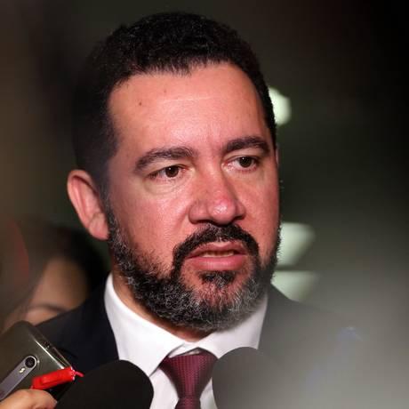 O ministro do Planejamento, Dyogo Oliveira, durante entrevista Foto: Agência O Globo/Givaldo Barbosa/19-12-2017 / Agência O Globo
