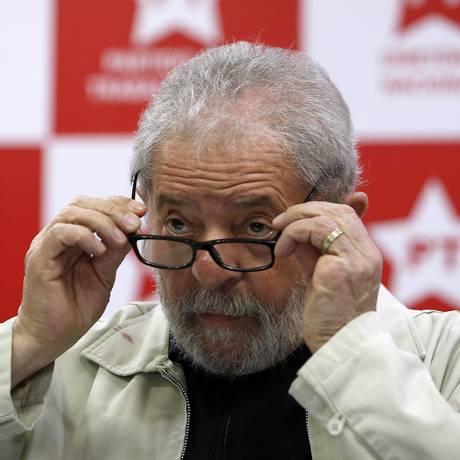 O ex-presidente Luiz Inácio Lula da Silva Foto: Edilson Dantas / Agência O Globo (02/09/2016)